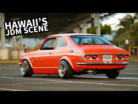 Checking Out Hawaii's Old-School JDM Car Scene