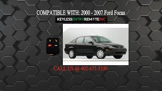 Batterie de rechange pour clés de voiture Ford Focus Bj 2003-2010