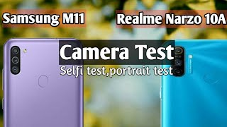 Samsung M11 Camera vs Realme Narzo 10A Camera review