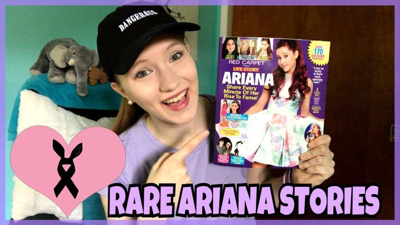 Rare Ariana Grande Stories Sara Harlee Youtube