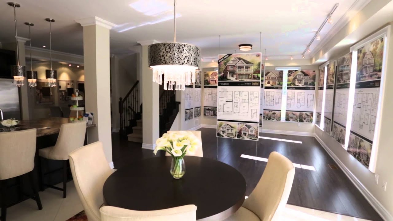 The summerlea new home sales office in binbrook youtube for Sales office design