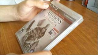 Assassins Creed Revelations PS3 Signature Edition Unboxing
