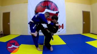 Видео урок от Егора и Артема, по Бразильскому Джиу Джитсу
