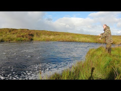 Salmon Fishing On The River Creed In The Hebrides