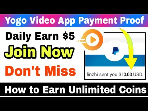 Yogo Video App Payment Proof | How to Earn Unlimited Coins | How to Withdraw Yogo Video Coins