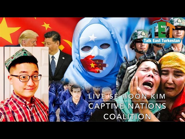 LIVE with Director of the Captive Nations Coalition Se Hoon Kim.