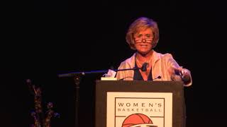 Nora Lynn Finch Women's Basketball Hall of Fame Induction Speech
