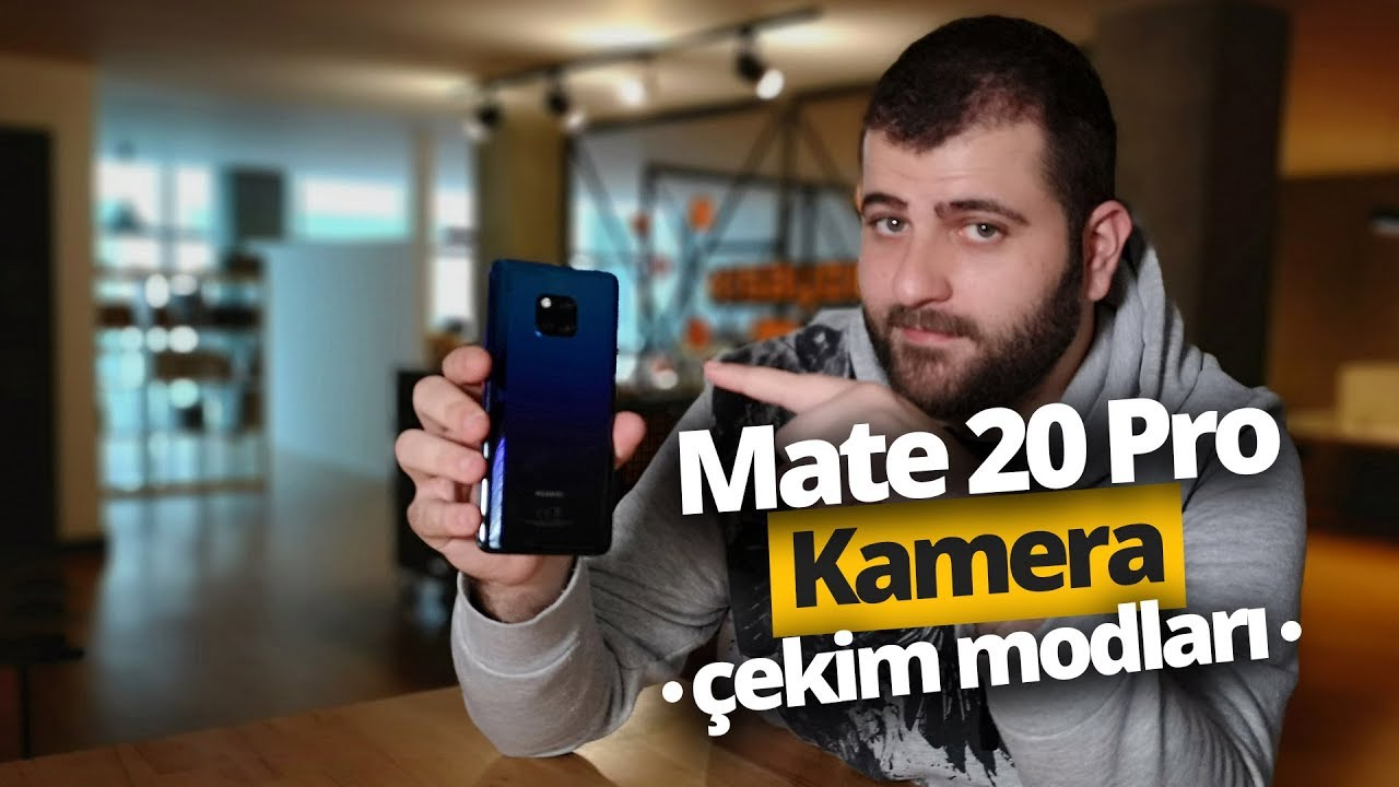 Huawei Mate 20 Pro Fotoğraf Çekim Modları - Hepsini Denedik!