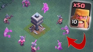 YOU CAN 3 STAR WITH THIS!!! | ALL BARB TEAM!! | Clash of clans