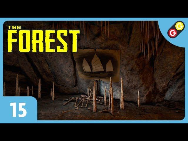 The Forest - Let's Play 3 #15 On trouve une épave de bateau ! [FR]