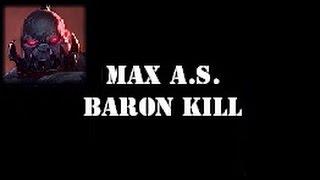 Sion - 2.5 Max Attack Speed & Baron Solo