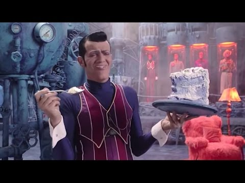 LazyTown - S01E01 Welcome to LazyTown but Robbie Rotten scenes only