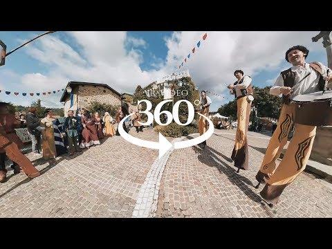 Vidéo 360° VR / Fête médiévale 2017 Saint-Victor sur Loire