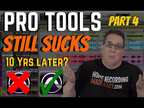 Pro Tools Review 2020 | Does it Still Suck 10 Yrs Later? Part 4