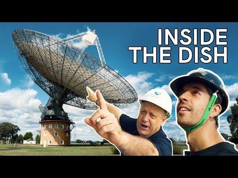 Inside The Dish - Parkes CSIRO Radio Telescope tour