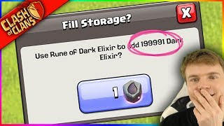 $200 = 2 Million DARK ELIXIR?!? ▶️ Clash of Clans ◀️ AM I GONNA DO THIS?