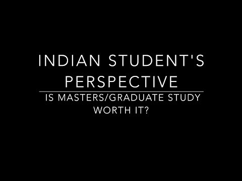 IS MS/MASTERS/GRADUATE SCHOOL WORTH IT? || INDIAN STUDENT'S PERSPECTIVE