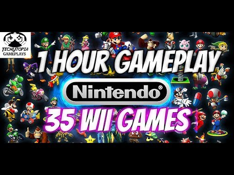 1Hour Gameplay 35 Wii Games on Android Smartphone/Dolphin Emulator(Must Play&Try) FHD Video 2017