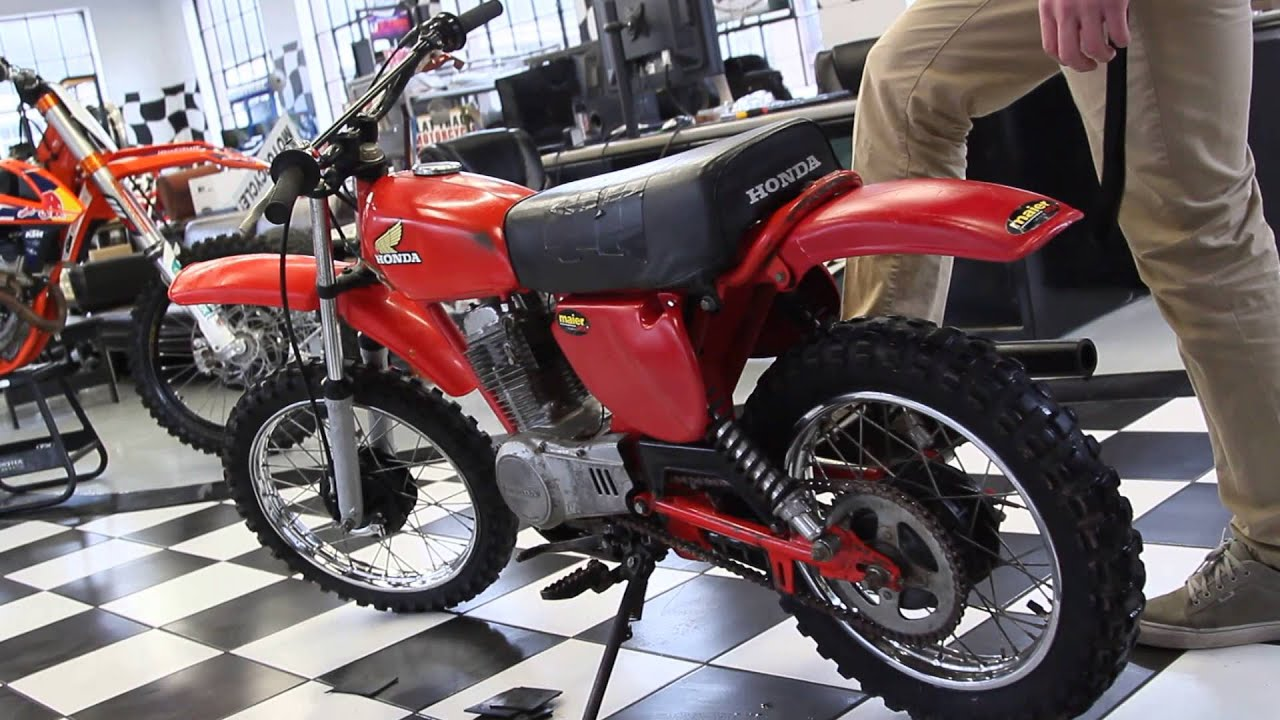 1978 Honda XR80 - YouTube
