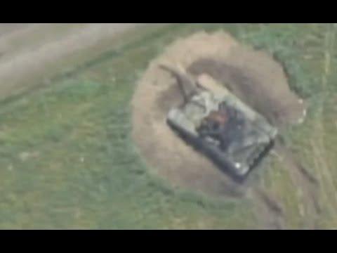Azerbaijan strikes destroy Armenian military base and tanks in Nagorno-Karabakh