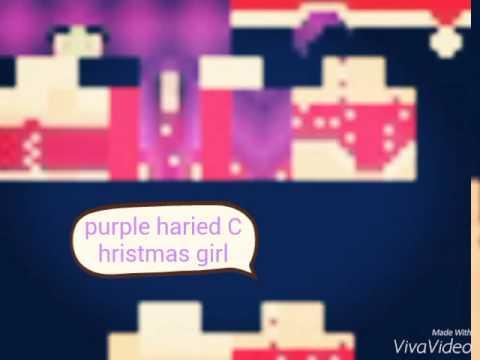 christmas girl minecraft skins - Christmas Skins For Minecraft