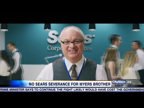 Business Report: Mike Myers' Brother Denied Severance From Sears After 36 Years On Job