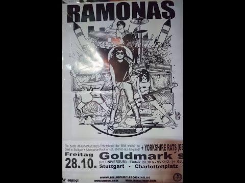 The Ramonas (Ramones Cover) Live in Concert Goldmarks Stuttgart 28.10.16