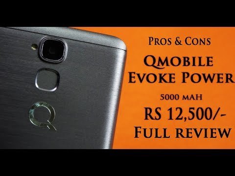 QMobile Evoke Power Full Device Review (RS.12,500) | Smartphone Reviews by Phoneworld