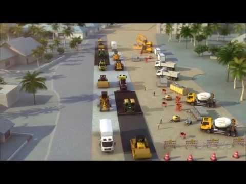 Kwame Nkrumah Interchange (Accra, Ghana) Construction Methodology