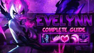 EVELYNN REWORK FULL GUIDE - Best Strategies, Best Jungle Tips, Rework Info - League Of Legends