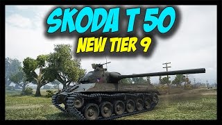 ► World of Tanks: Skoda T 50 Gameplay - New Czechoslovakian Tier 9 - Patch 9.13 Update