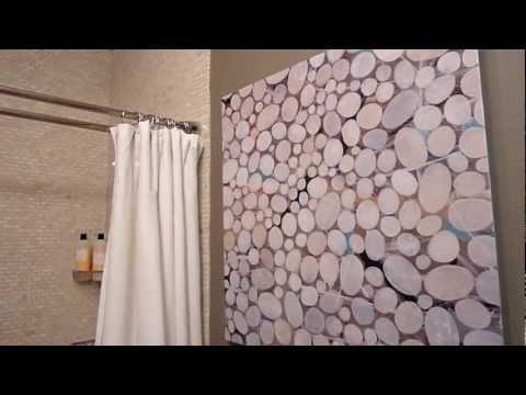 Roscoe Village (Chicago) Guest Bathroom Design Renovation