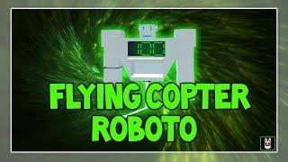 Roblox Script Showcase Episode#664/Flying Copter Roboto