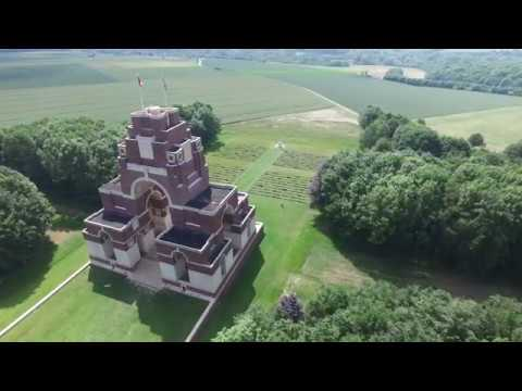 The Battlefields from Above | WW1 France & Belgium | DJI Phantom Drone/Osmo Handheld