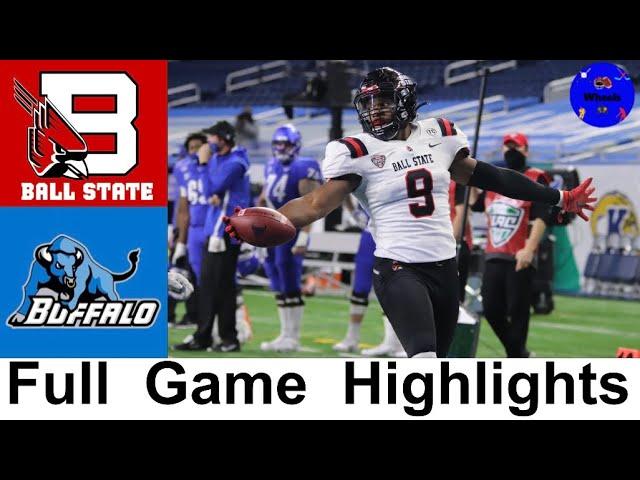 Ball State vs Buffalo Highlights   2020 MAC Championship Game   2020 College Football Highlights