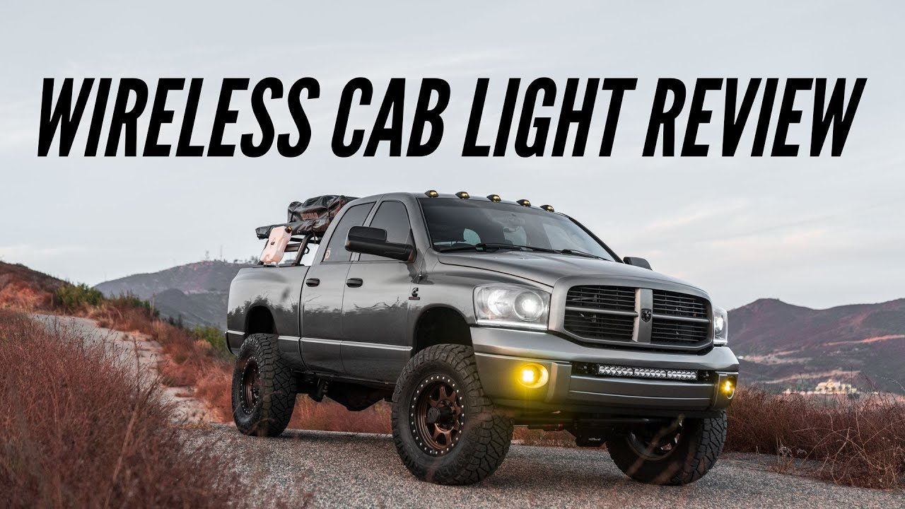 Cab Over America Wireless Cab Light Review (Updated On/Off Design). Are They Worth It?