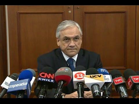 "Sebastián Piñera: ""No existe ninguna obligación para Chile de ceder territorio"""