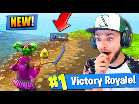 FINDING THE *SECRET* DUCKS in Fortite: Battle Royale! (EPIC GAME)