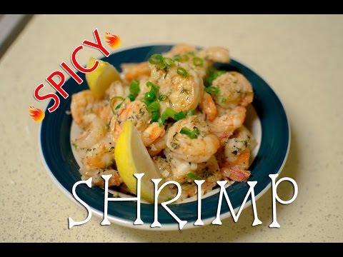 Spicy Garlic Shrimp Recipe Video