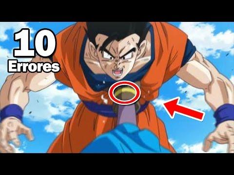 10 Errores de Dragon Ball que Nunca Habías Notado
