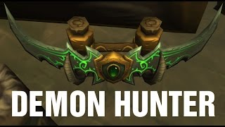 On Felbat Wings WoW Demon Hunter Quest