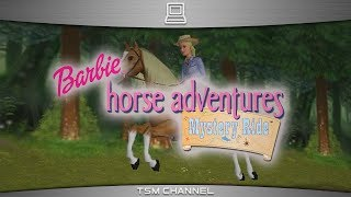 Barbie Horse Adventures : Mystery Ride (part 1) (Horse Game)