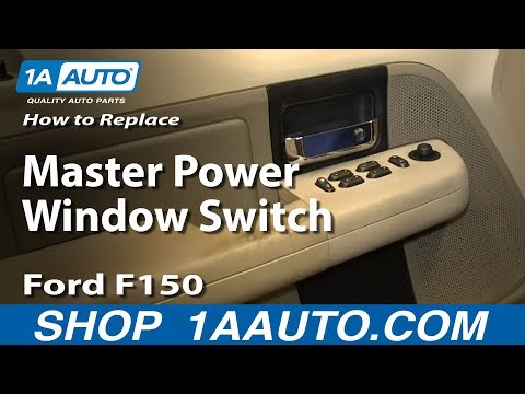 How To Replace Master Power Window Switch 04-08 Ford F150
