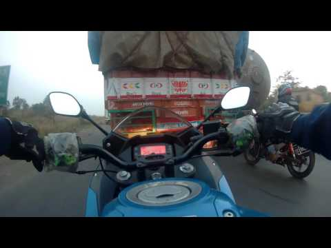 GoPro Hero 4 : Mumbai To Nasik | Suzuki Gixxer SF | NH3 ( National Highway 3 )