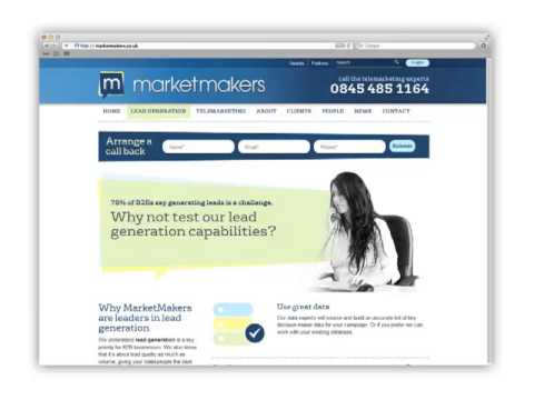 Market Makers New Website Launch