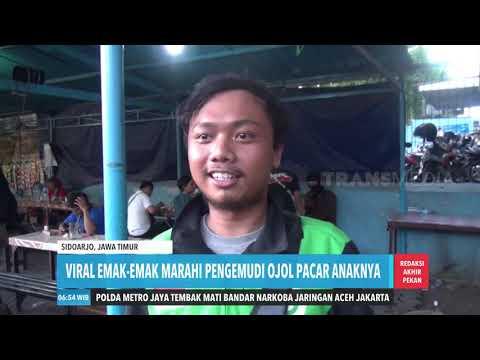 VIRAL EMAK-EMAK MARAHI PENGEMUDI OJOL PACAR ANAKNYA   REDAKSI PAGI (09/11/19)