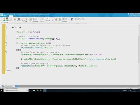 Code navigateur dans WEBDEV 22