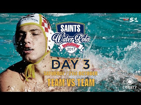 Saints Waterpolo Invitational  21 October 2017 - Day 3