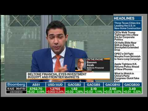 Bassem Azab CEO Beltone Financial