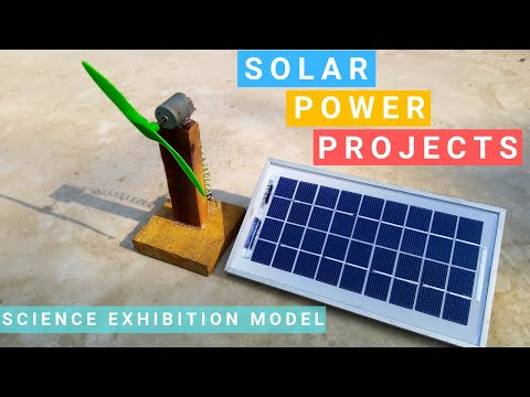Homemade Solar Power Projects | Free Energy | How to make a Solar Energy School Project For Student